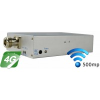 Amplificator bidirectional 4G LTE (18000 MHz), acoperire 300-500mp