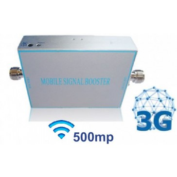 Amplificator bidirectional 3G (2100 MHz), acoperire 300-500mp